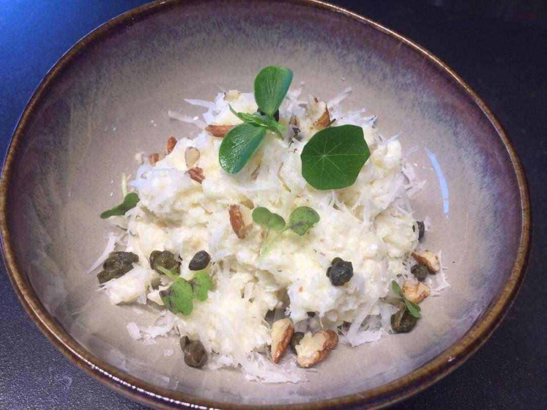 Bloemkool risotto van groenterijst