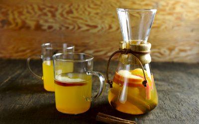 Zet het seizoen op je drankenkaart met Fresh Lemonade Infusion appel, kaneel en citroen