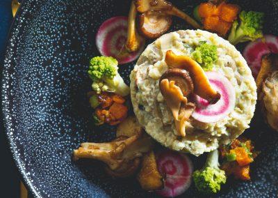 Bloemkoolrisotto met prachtige groenten