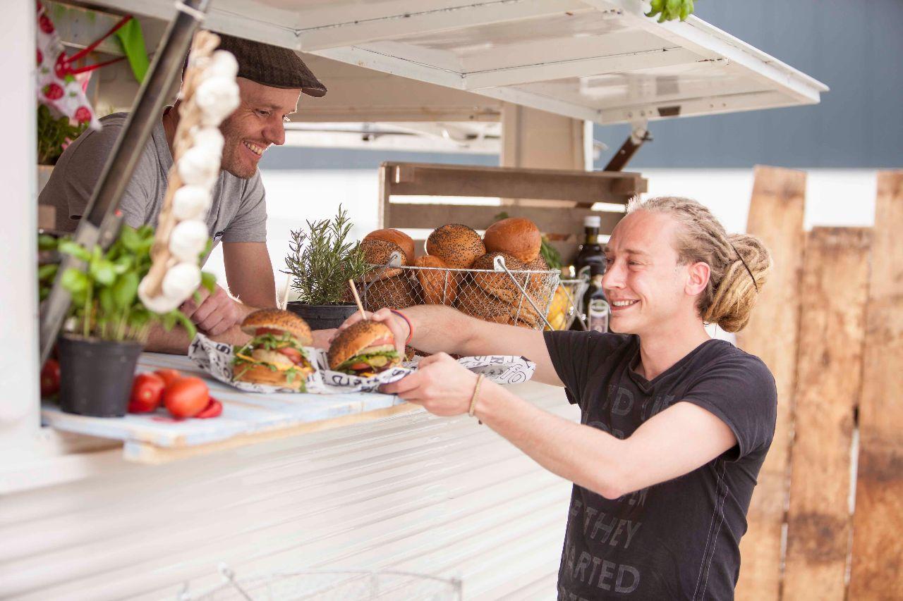 Festifood: vega burger