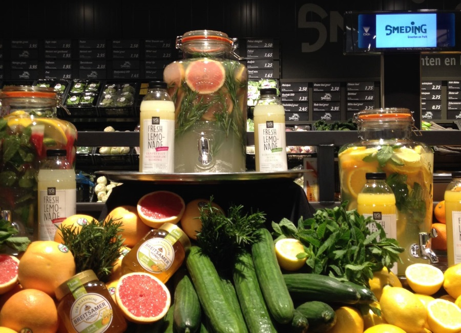 Er staan fresh lemonades voor je klaar!
