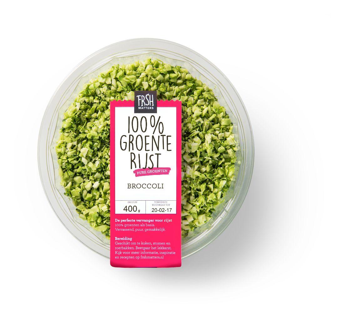 Groenterijst broccoli