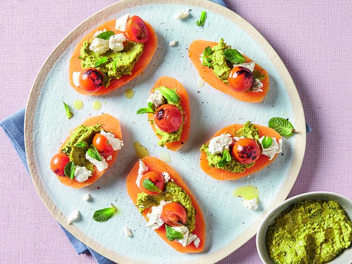 Groentenspread – Doperwtenspread op basis van groenten crèmes