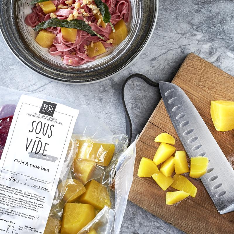 Geroosterde pastinaken met zoete aardappel