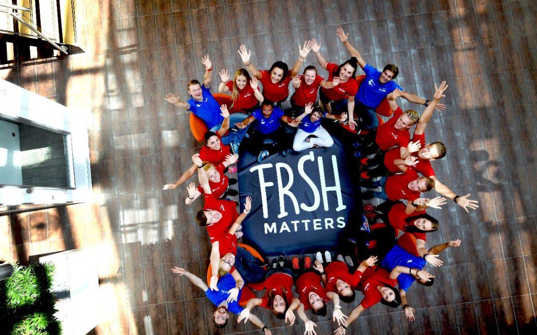 FRSH Matters trotse sponsor van Team FrySk